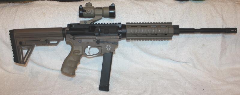 TNA, Tac-9 9MM AR9 Rifle, FDE, SS Match Grade Trigger and